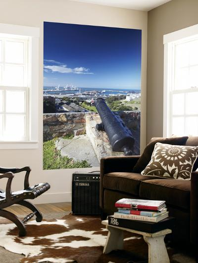 View of Port Elizabeth from Fort Frederick, Port Elizabeth, Eastern Cape, South Africa-Ian Trower-Wall Mural