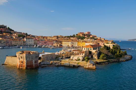 View of Portoferraio, Province of Livorno, on the island of Elba--Photographic Print