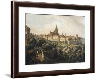 View of Prague from Belvedere-Vincent Morstadt-Framed Giclee Print
