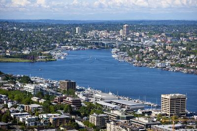 View of Puget Sound from Space Needle-Nosnibor137-Photographic Print