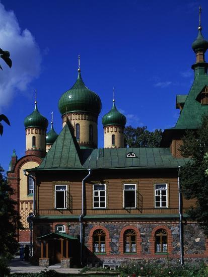 View of Puhtitsa Convent, Kuremae, Ida-Viru County, Estonia--Giclee Print