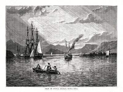 View of Punta Arenas, Costa Rica, 1877--Giclee Print