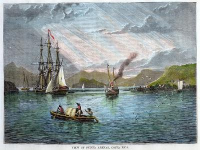 View of Punta Arenas, Costa Rica, C1880--Giclee Print