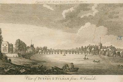 View of Putney and Fulham from Mr Vanneck's--Giclee Print