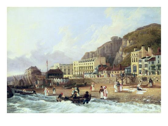 View of Ramsgate-Richard Hume Lancaster-Giclee Print