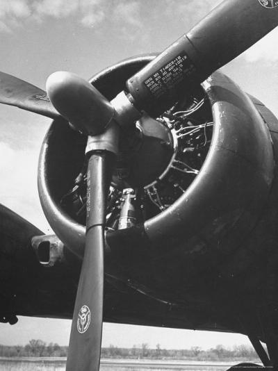 View of Reversible Propellers in Action-Andreas Feininger-Photographic Print
