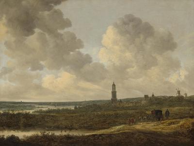 View of Rhenen, 1646-Jan Van Goyen-Giclee Print