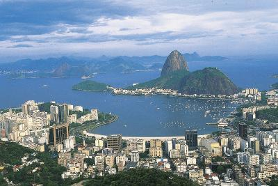 View of Rio De Janeiro and Sugarloaf Mountain--Photographic Print