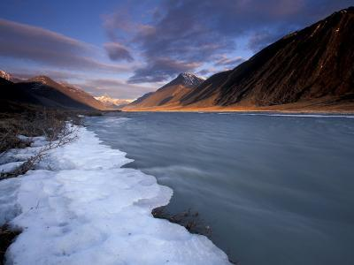 View of River and Landscape, Arctic National Wildlife Refuge, Alaska, USA-Art Wolfe-Photographic Print