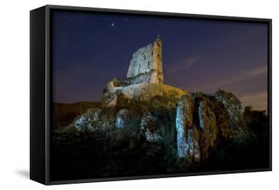 "12x8/"" SALVADOR DALI Butterflies Rocks Cliff Canvas Art Print"