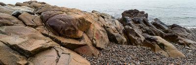 View of rocks at coast, Acadia National Park, Maine, USA--Photographic Print