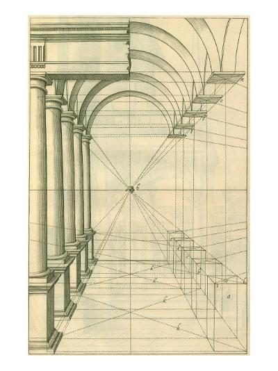 View of Roman Gallery, 1751-Henricus Hondius-Giclee Print