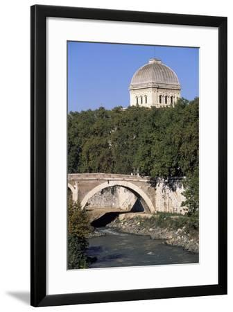 View of Rome--Framed Photographic Print