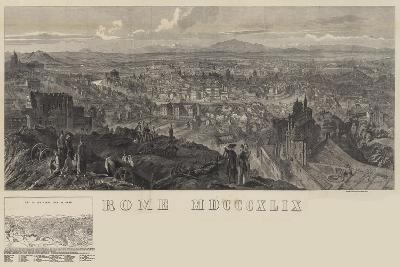 View of Rome--Giclee Print