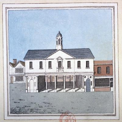 View of Romford Market House, Essex, C1800--Giclee Print