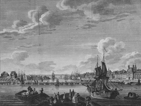 'View of Rouen', 1782-Unknown-Giclee Print