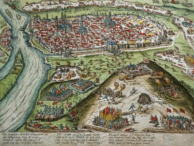 View of Rouen--Giclee Print