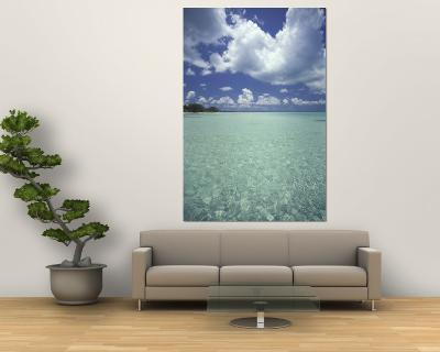 View of Rum Point on Grand Cayman, Cayman Islands, Caribbean-Robin Hill-Wall Mural