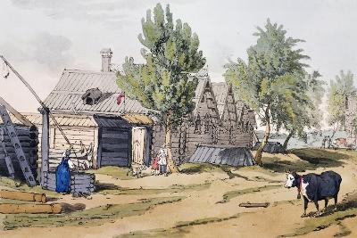 View of Russian Village--Giclee Print