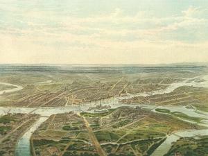 View of Saint Petersburg, 1870