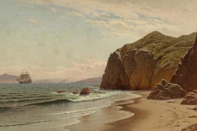 View of San Francisco Bay from Land's End, 1883-Raymond Dabb Yelland-Giclee Print