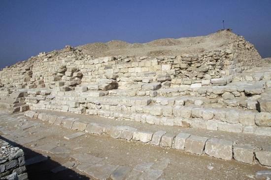 View of Saqqara Necropolis, Memphis--Photographic Print