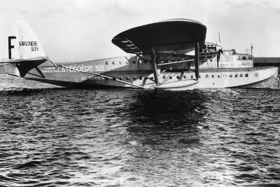 View of Seaplane Lieutenant De Vaisseau Paris--Photographic Print