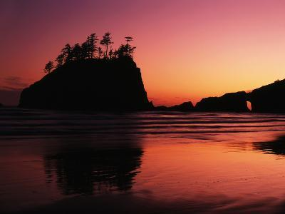 View of Second Beach, Olympic National Park, Washington State, USA-Stuart Westmorland-Photographic Print