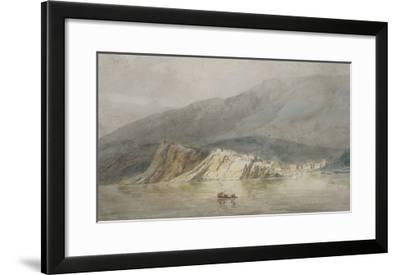 View of Sestri Di Levante, Genoa-J^ M^ W^ Turner-Framed Giclee Print