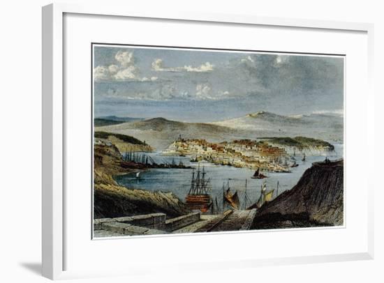 View of Sevastopol, C. 1850--Framed Giclee Print
