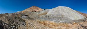 View of silver mine, Inca Trail, Bolivia