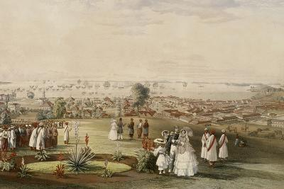 View of Singapore from Fort Canning, 1846-John Turnbull Thomson-Giclee Print