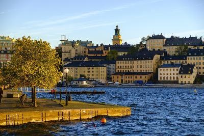 View of Sodermalm District in Stockholm, Sweden-Carlos Sanchez Pereyra-Photographic Print