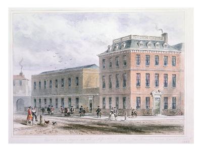View of Soho Square and Carlisle House-Thomas Hosmer Shepherd-Giclee Print