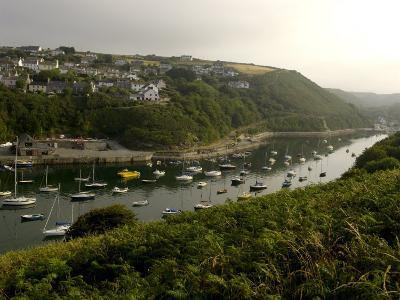 View of Solva Harbour from Cribyn (Or Gribin) Ridge, Pembrokeshire, Wales, United Kingdom-Rob Cousins-Photographic Print