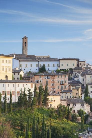 View of Spoleto, Umbria, Italy-Ian Trower-Photographic Print