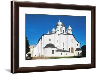 View of St Sophia Cathedral--Framed Giclee Print