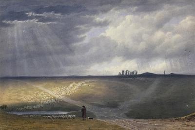 View of Stonehenge-J^ M^ W^ Turner-Giclee Print