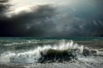 View of Storm Seascape-yuran-78-Photographic Print