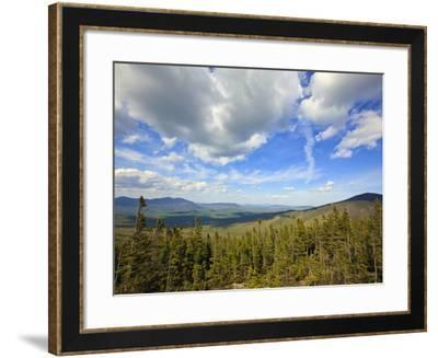 View of Sugarloaf Mountain from the Appalachian Trail on Crocker Mountain in Stratton, Maine, Usa-Jerry & Marcy Monkman-Framed Photographic Print