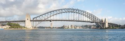 View of Sydney Harbour Bridge from Sydney Opera House, Sydney, New South Wales, Australia--Photographic Print