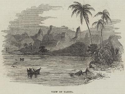 View of Tahiti--Giclee Print