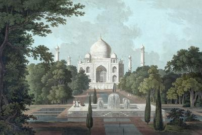 View of Taj Mahal, 1801-Thomas & William Daniell-Giclee Print