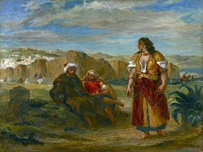 View of Tangier, 1852-3-Eugene Delacroix-Giclee Print