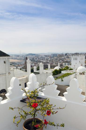 View of Tangier from the Medina, Tangier, Morocco-Nico Tondini-Photographic Print