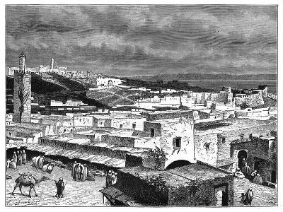 View of Tangier, Morocco, from the Landward Side, C1890--Giclee Print