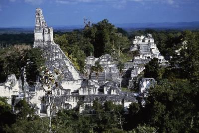 View of Temple V, Tikal National Park--Photographic Print