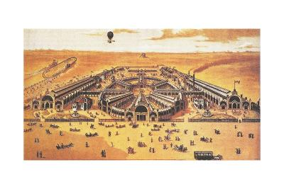 View of the All-Russian Exhibition of 1882 (Khodynka, Mosco), 1882--Giclee Print