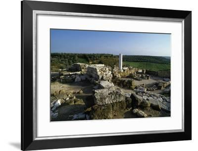 View of the Archaeological Site of Early Christian Basilicas--Framed Giclee Print