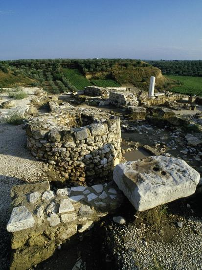 View of the Archaeological Site of Early Christian Basilicas--Giclee Print